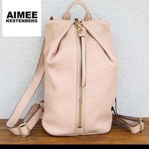 Aimee Kestenberg pink backpack